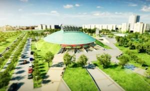 Gyönyörű sportkomplexum készül