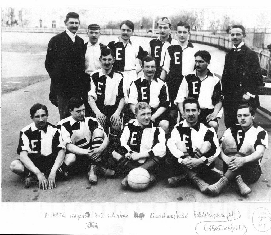 A BEAC labdarúgó csapata 1905-ben