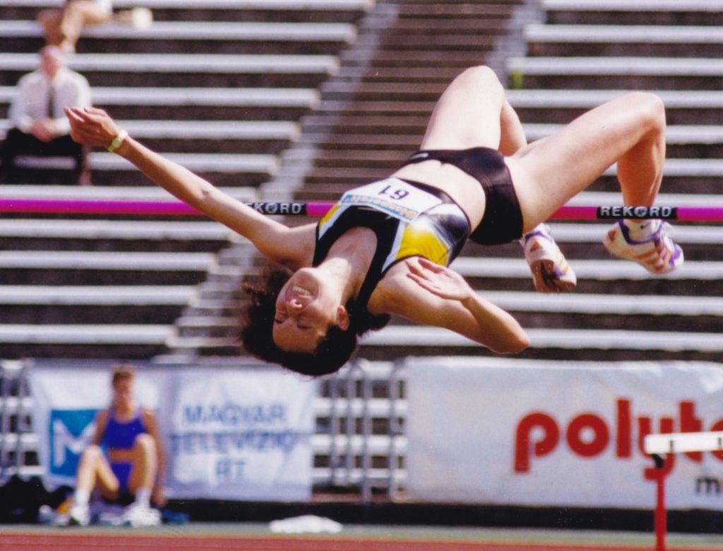 Győrffy Dóra Európa-bajnoki ezüstérmes, Universiade-aranyérmes, 11-szeres magyar bajnok magasugró