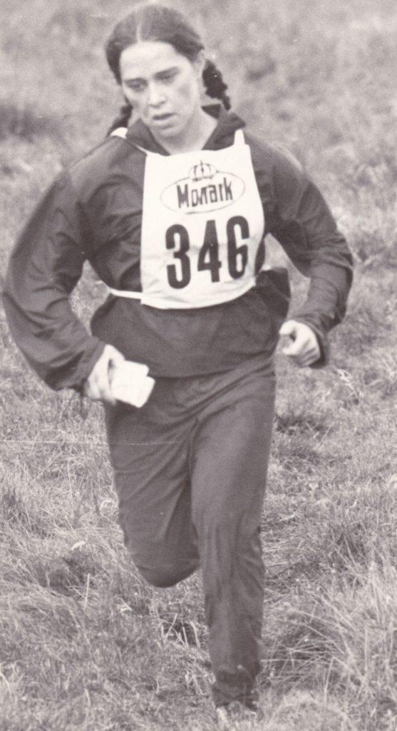 Hegedüs Ágnes 1970-ben váltóban szerezte meg a magyar tájfutás első világbajnoki érmét (2. hely)